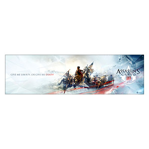 Assassin's Creed. Размер: 210 х 60 см